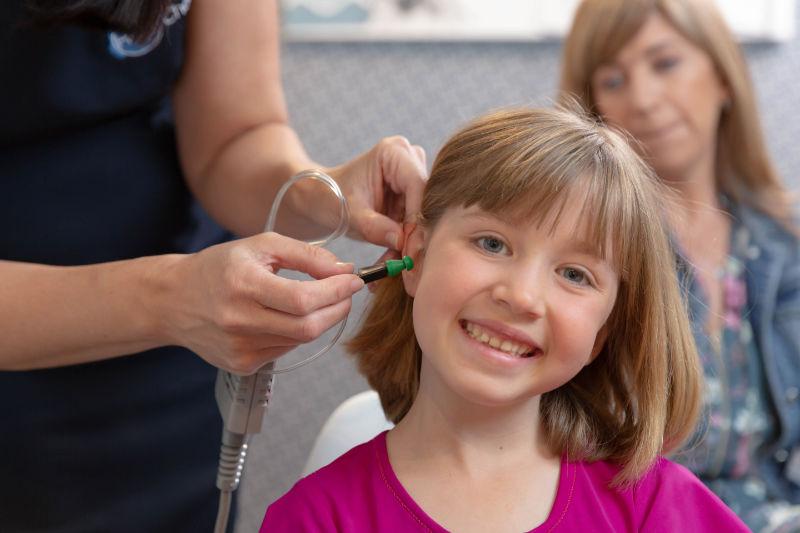 child hear testing