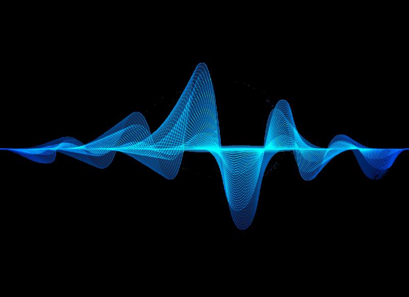 sound waves graphic